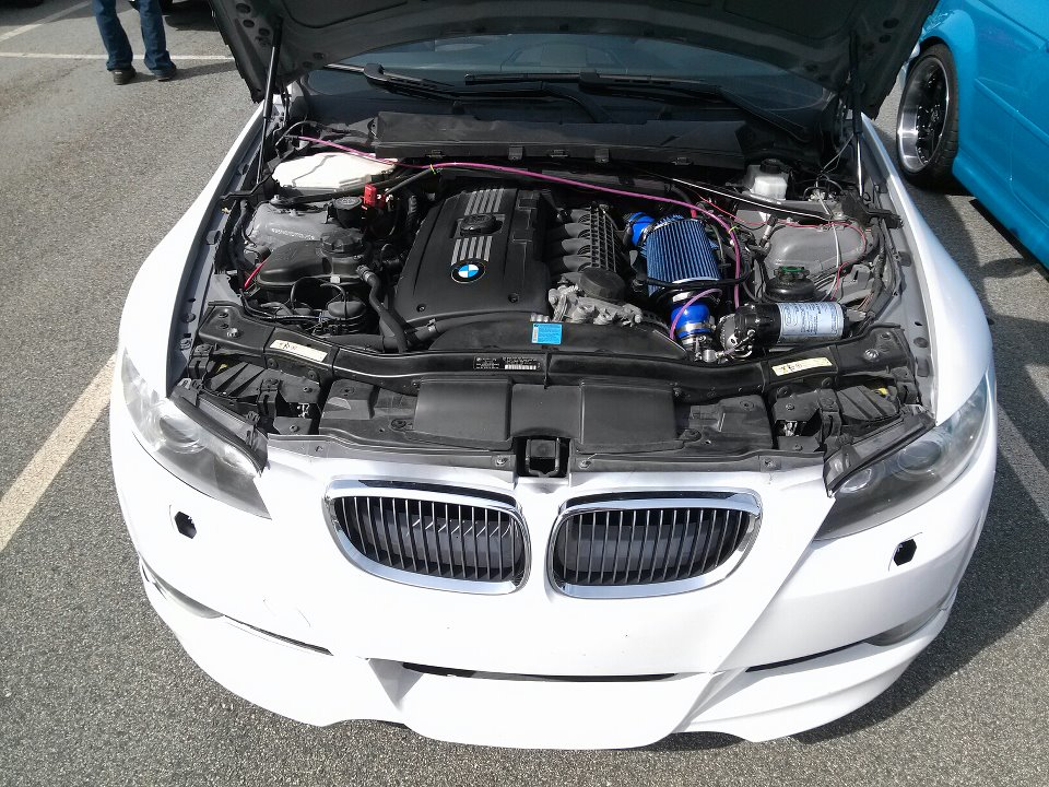 Top Mount Single Turbo in the works - N54Tech com