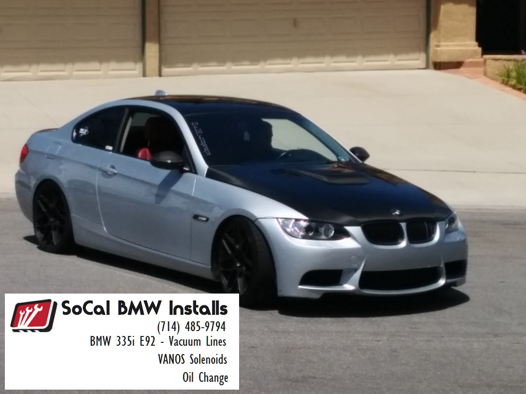 Orange County Bmw Service And Installs For Forum Members N54 N55 2011 535i Vacuum Diagram Attached Images