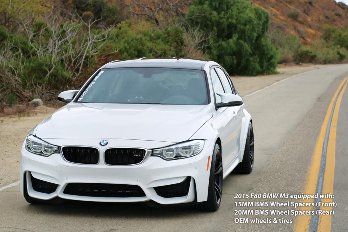 BMS Wheel Spacers for the M4  N54Techcom  Your Source for