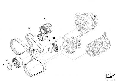 serpentine belt confussion  - n54tech com