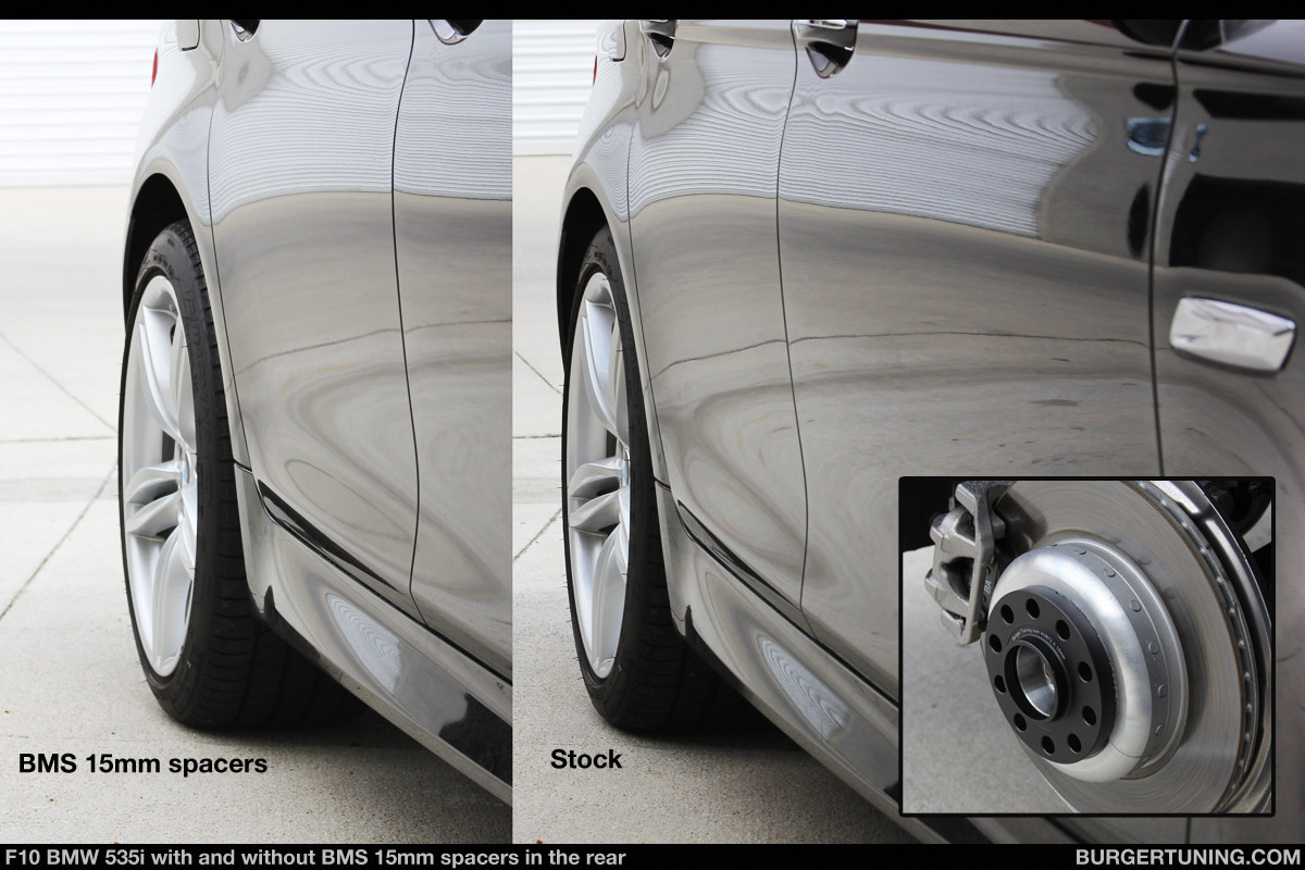 F10 535i with BMS Wheel Spacers - N54Tech.com - Your ...
